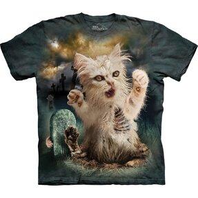 T-Shirt Zombie Katze