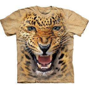 Tričko Nahněvaný leopard