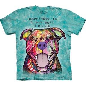 Tričko Russo Usmievajúci sa Pit Bull