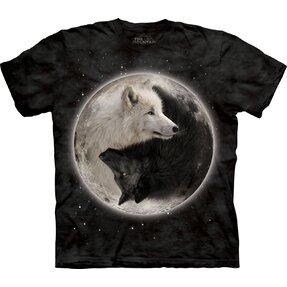 T-Shirt Yin Yang Wölfe