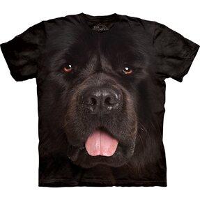 Tričko Obličej novofunlandského pejska