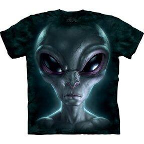 Tričko Sivý mimozemšťan