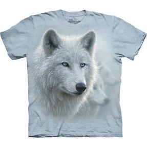 Tričko Krásny biely vlk