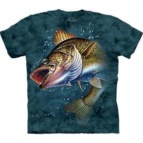 T-Shirt Springender Fisch