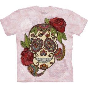 Tričko Romantická lebka