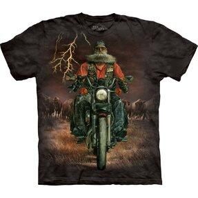 Tričko Motorkář v bouři