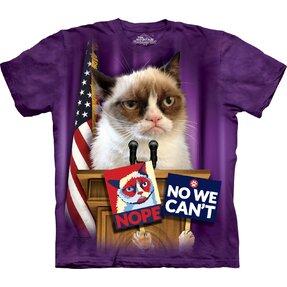 Tričko Grumpy cat prezidentem