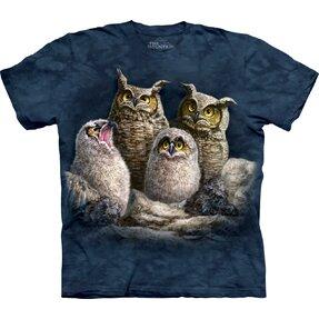 Tričko Soví rodinka