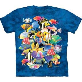 T-Shirt Tropische Fische
