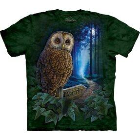 Tričko Sova v lese