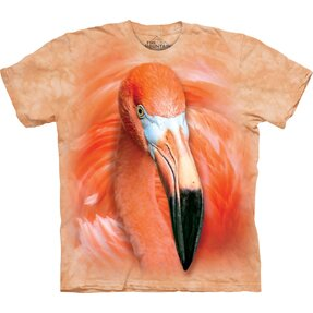 Tricou Big Face Flamingo