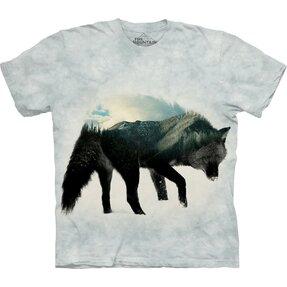 Tričko Vlk a les
