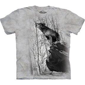 Vonyító farkas póló