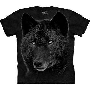 T-Shirt Schwarzer Wolf