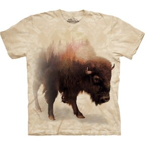 Tricou Bison Forest