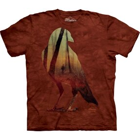 Tričko Vrána a les