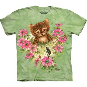 Tricou Curious Little Kitten