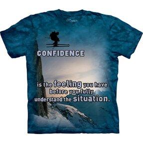 T-Shirt Schilaufen