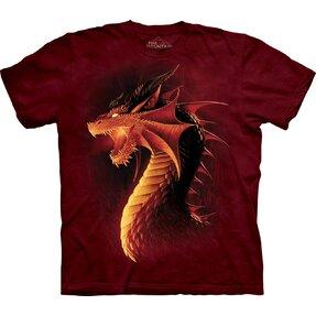 T-Shirt Roter Drache