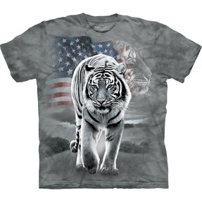 Patriotic Tiger Adult