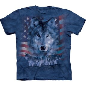 Patriotic Wolf Pack Adult