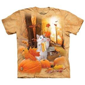 Tričko Podzimní kotě