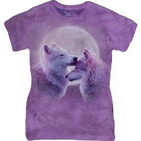 Damen T-Shirt Liebe zwischen  Wölfen
