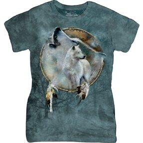 Tricou damă Wolf Spirit Shield