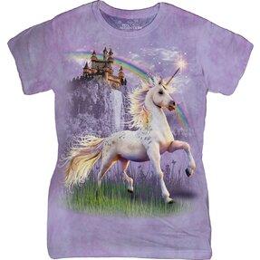 Tricou damă  Fantasy Unicorn Castle