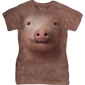 Tricou damă  Pig Face Farm