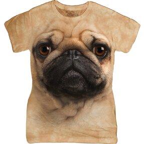Dámske tričko Mopslík
