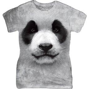 Dámske tričko Biela panda