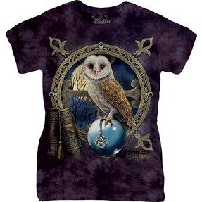 Dámske tričko Sova veštec