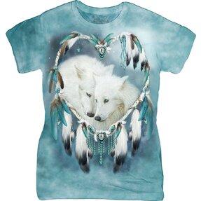 Damen T-Shirt Wolfsliebe