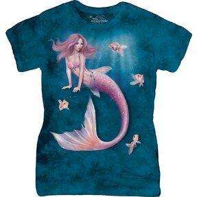 Dámske tričko Fantasy Morská panna