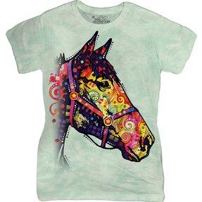 Dámske tričko Russo Funky Kôň