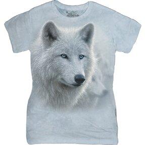 Dámske tričko Biely vlk