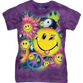 Dámske tričko Mier a radosť