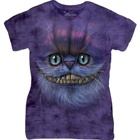 Tricou damă  Big Face Cheshire Cat