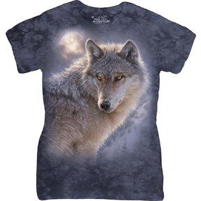 Dámské tričko Dobrodružný vlk