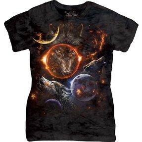 Dámske tričko Vesmírne vlky