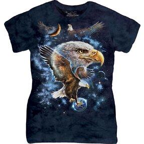 Dámské tričko Orel ve vesmíru