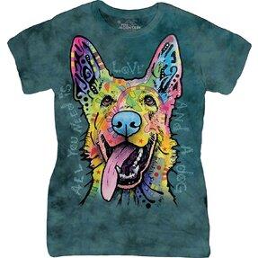 Dámske tričko Russo nemecký ovčiak