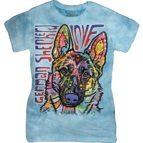 Damen T-Shirt Russo Deutscher Schäferhund