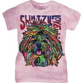 Dámske tričko Russo Shih Tzu