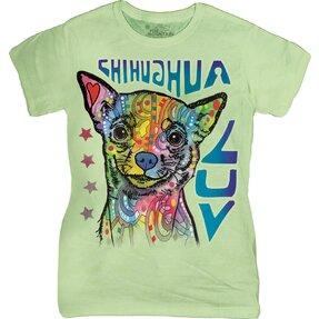 Damen T-Shirt Russo Chihuahua