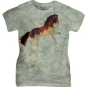 Dámské tričko Lesní hřebec