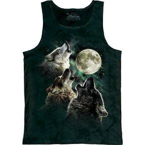 Tielko Tri vlky vyjúce na mesiac