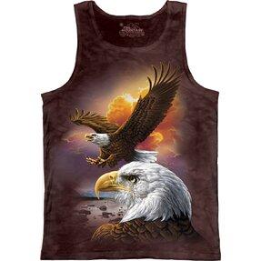 Unterhemd Adler mit guten Nachrichten