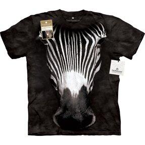 Tričko Velká tvář zebry